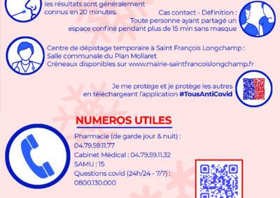 flyer covid saint francois longchamp